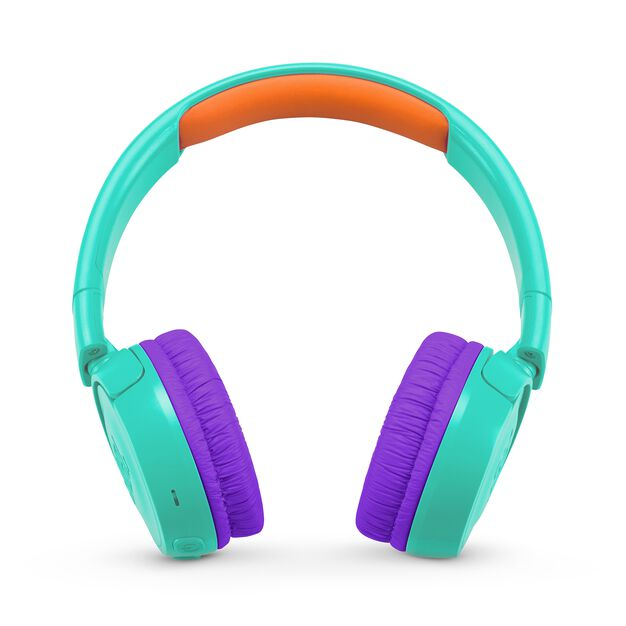 JBL JR300BT - Teal - Kids Wireless on-ear headphones - Front