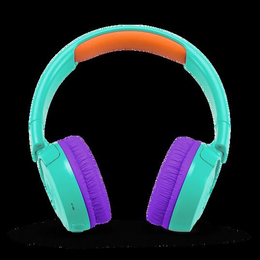 JBL JR300BT - Teal - Kids Wireless on-ear headphones - Front