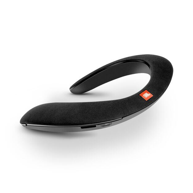 JBL SOUNDGEAR - Black - Wearable wireless sound - Hero