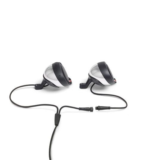 JBL Cruise - Chrome - Handlebar Mounted Bluetooth Audio System - Detailshot 3