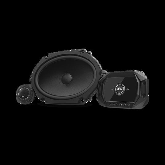 "JBL Stadium GTO 860C - Black - Stadium GTO860C 6"" x 8"" two-way component system w/ gap switchable crossover - Hero"