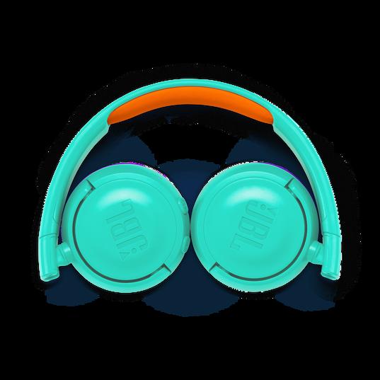 JBL JR300BT - Teal - Kids Wireless on-ear headphones - Detailshot 3