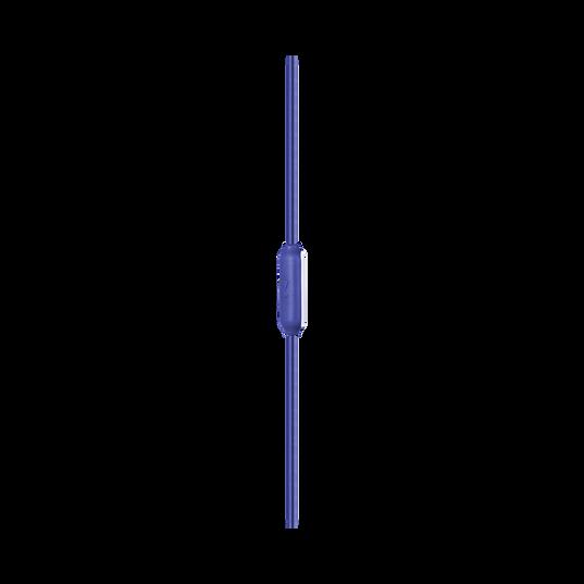 JBL Endurance RUN - Blue - Sweatproof Wired Sport In-Ear Headphones - Detailshot 2