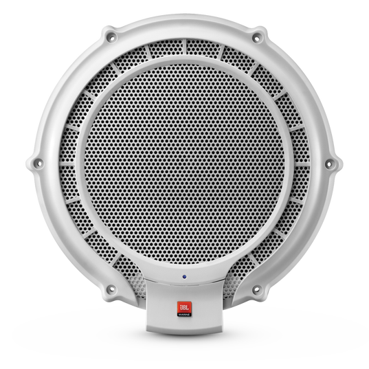 MPS 1000 - White - 10 inch 250-Watt Powered Marine Subwoofer - Hero