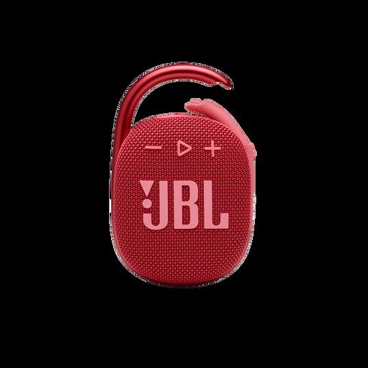 JBL CLIP 4 - Red - Ultra-portable Waterproof Speaker - Front