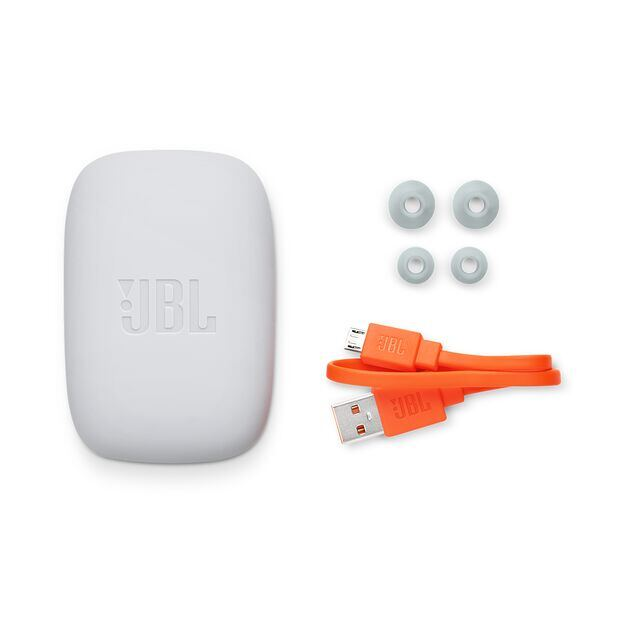 JBL Endurance JUMP - Black - Waterproof Wireless Sport In-Ear Headphones - Detailshot 4