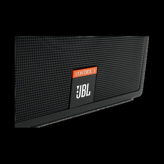 JBL Control 5 - Black - Compact Control Monitor Loudspeaker System - Detailshot 1
