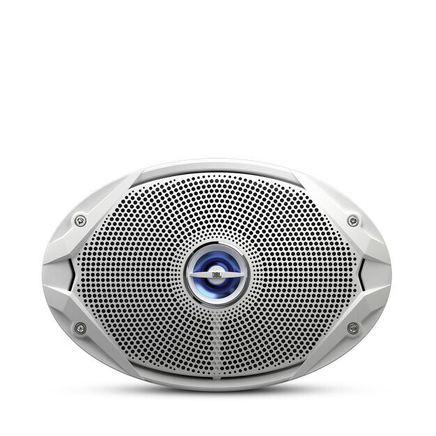 "MS 9520 - White - 6"" x 9"" coaxial, 300 W Marine Speaker - Front"