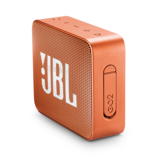 JBL GO 2 - Coral Orange - Portable Bluetooth speaker - Detailshot 2