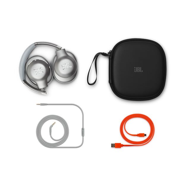 JBL EVEREST™ 710 - Silver - Wireless Over-ear headphones - Detailshot 2