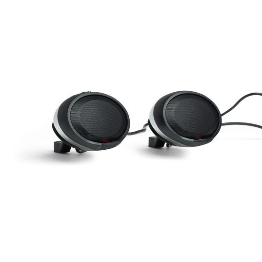 JBL Cruise - Chrome - Handlebar Mounted Bluetooth Audio System - Hero