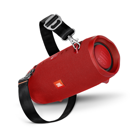 JBL Xtreme 2 - Red - Portable Bluetooth Speaker - Detailshot 2