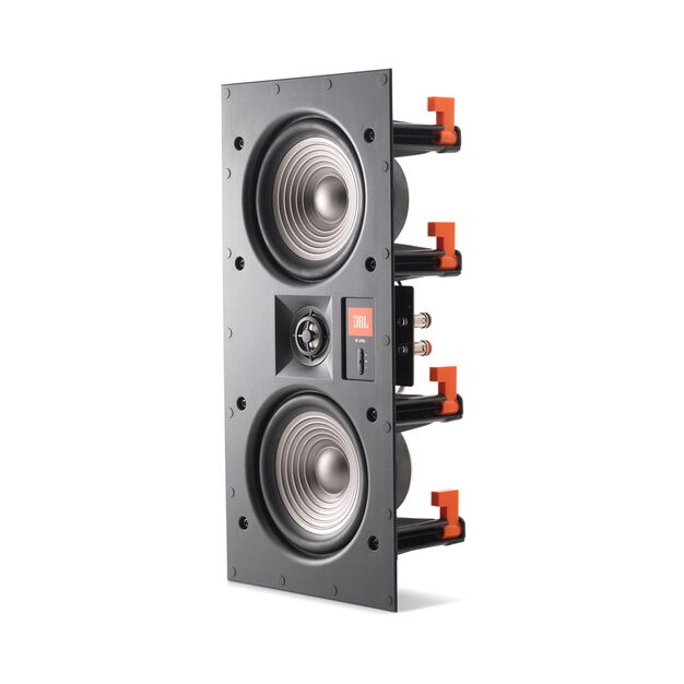 "Studio 2 55IW - Black - Premium In-Wall Loudspeaker with 2 x 5-1/4"" Woofers - Detailshot 1"