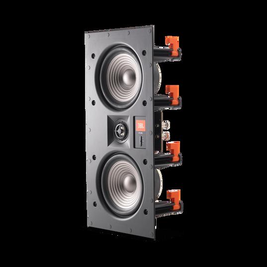 """Studio 2 55IW - Black - Premium In-Wall Loudspeaker with 2 x 5-1/4"""" Woofers - Detailshot 1"""