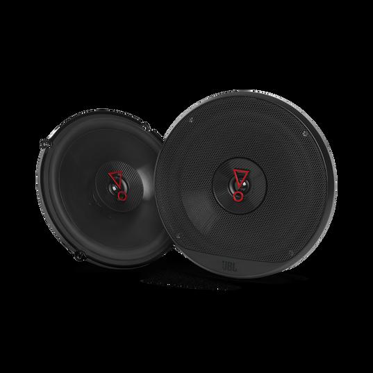 """Stage3 627 - Black - 6-1/2"""" (160mm)  2-Way coaxial car speaker - Hero"""