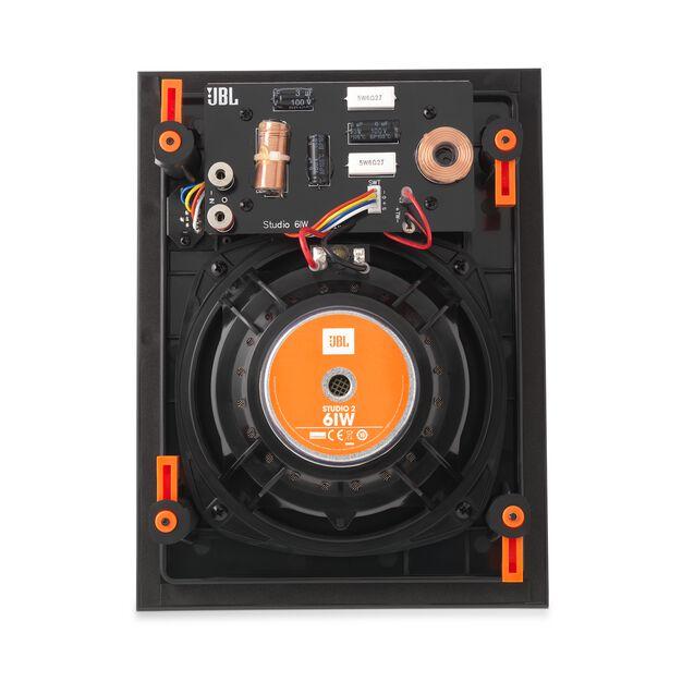 """Studio 2 6IW - Black - Premium In-Wall Loudspeaker with 6-1/2"""" Woofer - Back"""