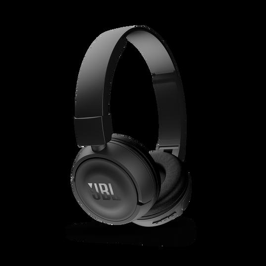 JBL T450BT - Black - Wireless on-ear headphones - Detailshot 2
