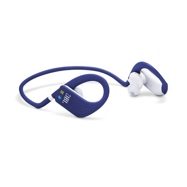 JBL Endurance DIVE - Blue - Waterproof Wireless In-Ear Sport Headphones with MP3 Player - Detailshot 4