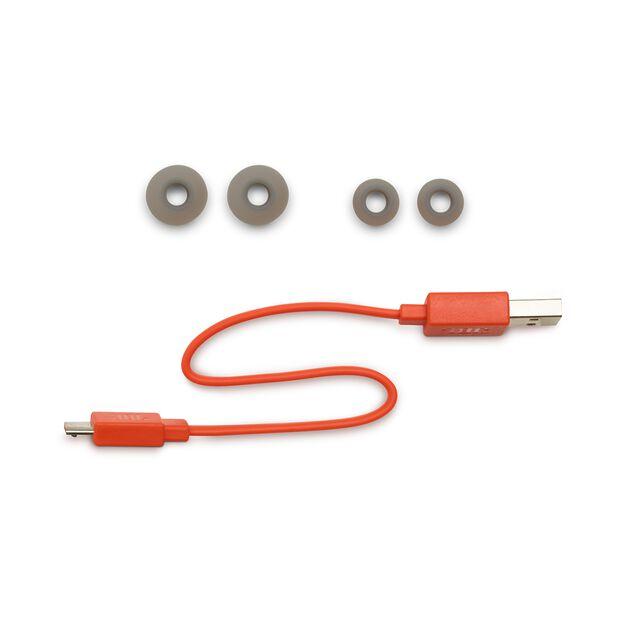 JBL Endurance RUNBT - Black - Sweatproof Wireless In-Ear Sport Headphones - Detailshot 4