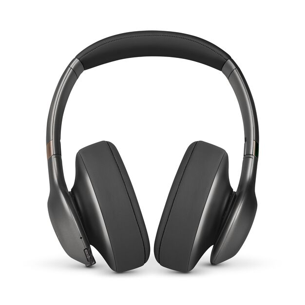 JBL EVEREST™ 710 - Gun Metal - Wireless Over-ear headphones - Front