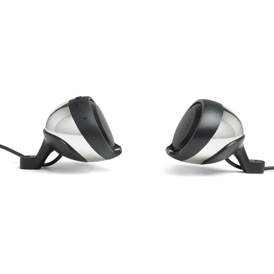 JBL Cruise - Chrome - Handlebar Mounted Bluetooth Audio System - Left