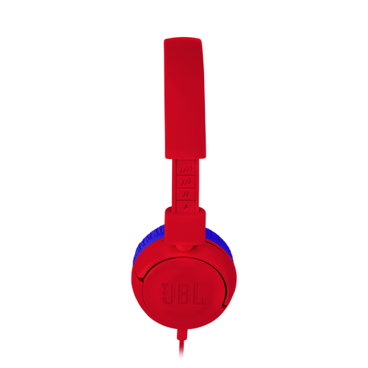 JBL JR300 - Red - Kids on-ear Headphones - Detailshot 2