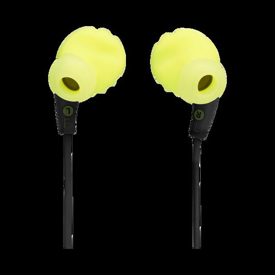 JBL Endurance RUNBT - Green - Sweatproof Wireless In-Ear Sport Headphones - Back