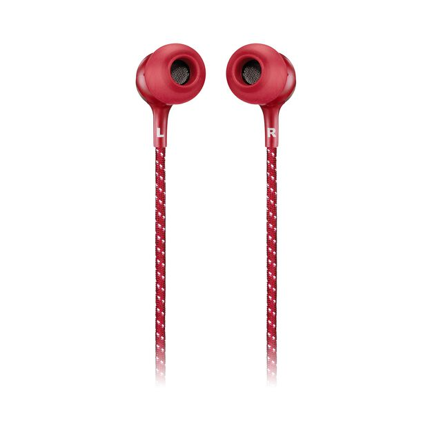 JBL LIVE 200BT - Red - Wireless in-ear neckband headphones - Back