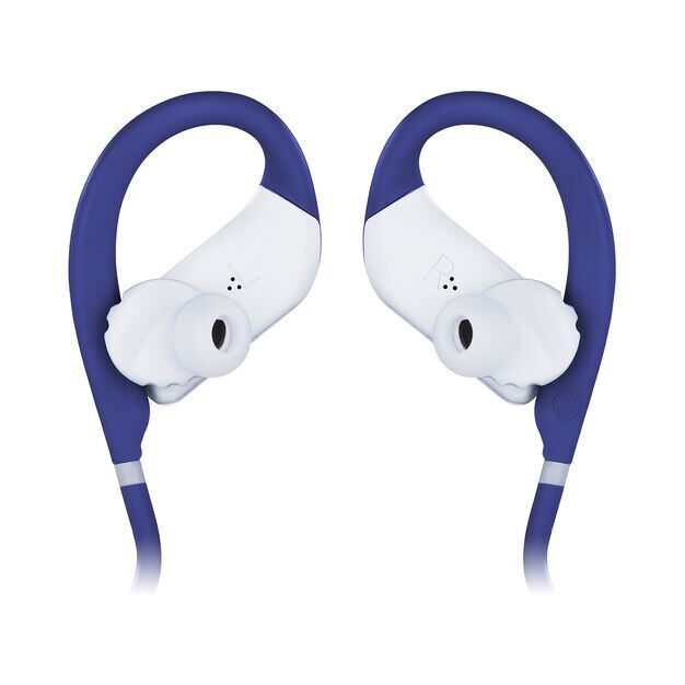 JBL Endurance JUMP - Blue - Waterproof Wireless Sport In-Ear Headphones - Detailshot 3
