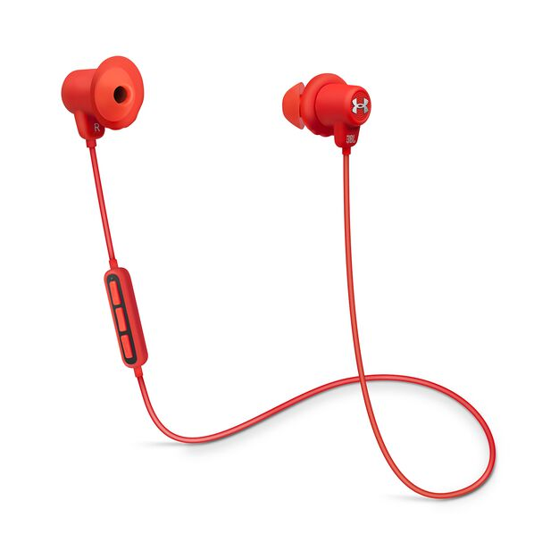 Under Armour Sport Wireless - Red - Wireless in-ear headphones for athletes - Hero