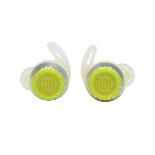 JBL Reflect Flow - Green - Waterproof true wireless sport earbuds - Front