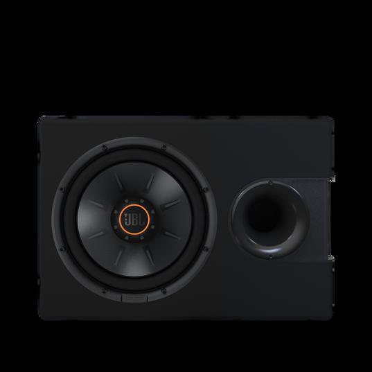 """S2-1024SS - Black - 10"""" (250mm) Slipstream ported enclosure - Detailshot 2"""