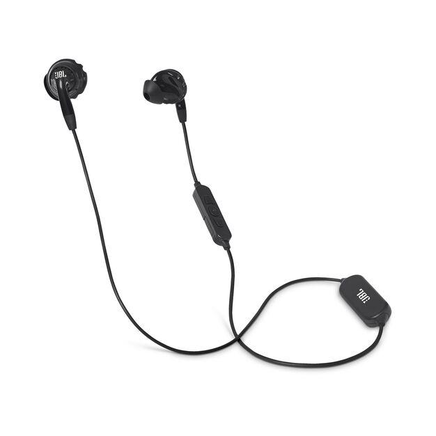 JBL Inspire 500 - Black - In-Ear Wireless Sport Headphones - Hero