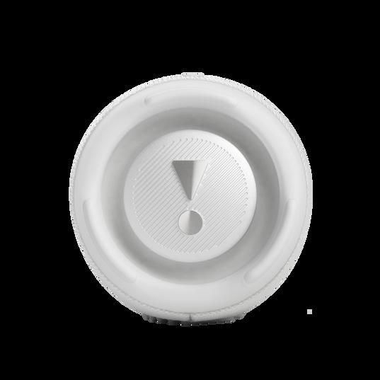 JBL CHARGE 5 - White - Portable Waterproof Speaker with Powerbank - Left