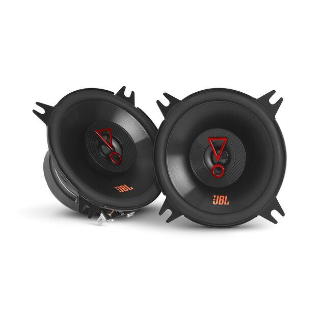 "Stage3 427F - Black - 4"" (100mm)  2-Way coaxial  car speaker for factory  upgrade without grille - Hero"