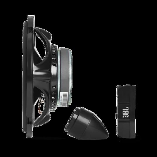 "Stage3 607CF - Black - 6-1/2"" (165mm)  2-Way  component system  car speaker  for factory upgrade without grille - Detailshot 2"
