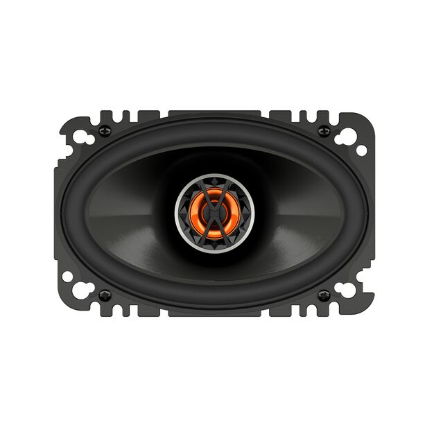 "Club 6420 - Black - 4""x6"" (100mm x 152mm) coaxial car speaker - Front"