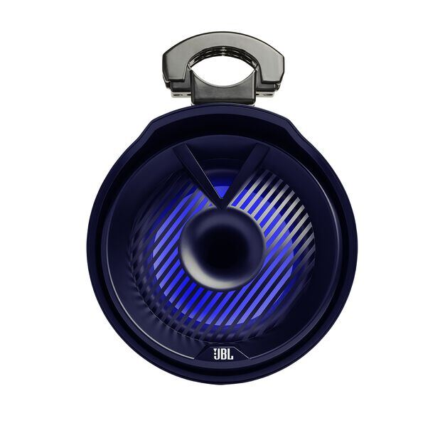 "JBL Tower X Marine MT8HLB - Black Gloss - 8"" (200mm) enclosed two-way marine audio tower speaker with 1"" (25mm) horn loaded compression tweeter – Black - Detailshot 5"
