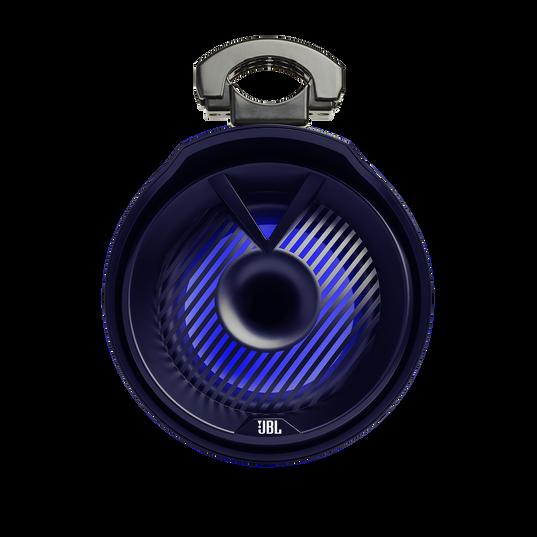 "JBL Tower X Marine MT8HLB - Black Gloss - 8"" (200mm) enclosed two-way marine audio tower speaker with 1"" (25mm) horn loaded compression tweeter – Black - Detailshot 5"
