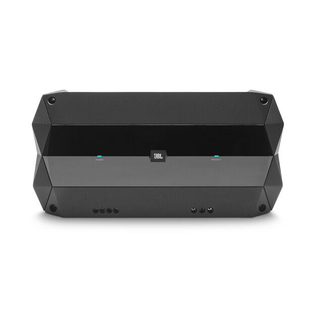 JBL CLUB 1KW Amps - Black - 1000W mono subwoofer amplifier with wired remote control bass level control - Detailshot 1