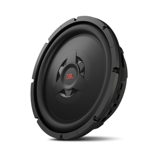 "Club WS1200 - Black - Club WS1200 - 12"" Shallow Mount Subwoofer - Detailshot 1"