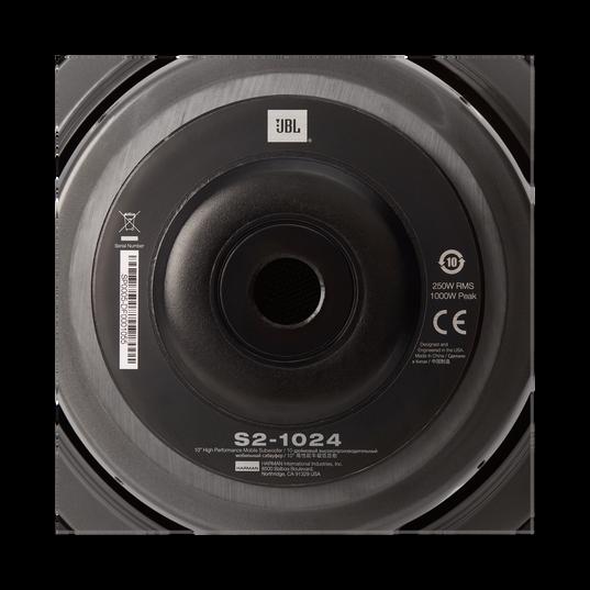 """S2-1024 - Black - 10"""" (250mm)  SSI car audio subwoofer - Detailshot 4"""