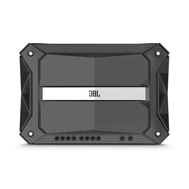 Stadium 4 - Black - High-performance multi-channel Class D amplifier - Front