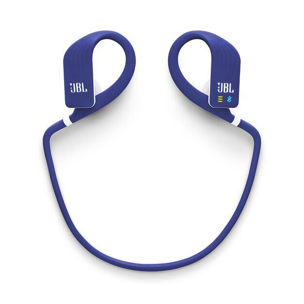 JBL Endurance DIVE - Blue - Waterproof Wireless In-Ear Sport Headphones with MP3 Player - Detailshot 3