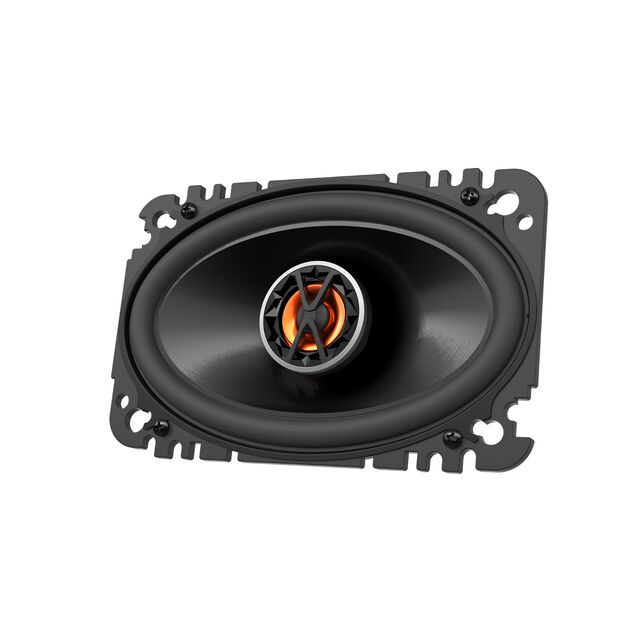 "Club 6420 - Black - 4""x6"" (100mm x 152mm) coaxial car speaker - Hero"