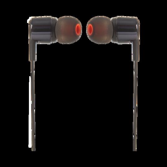 JBL TUNE 210 - Black - In-ear headphones - Front