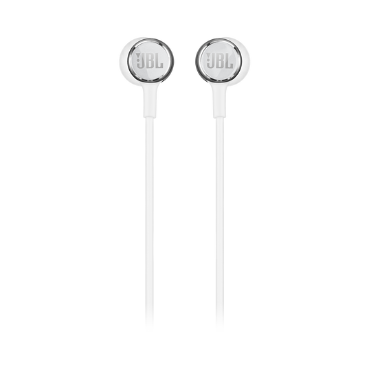 JBL LIVE 100 - White - In-ear headphones - Front