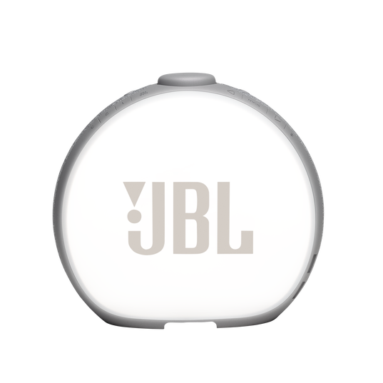 JBL Horizon 2 FM - Grey - Bluetooth clock radio speaker with FM - Back