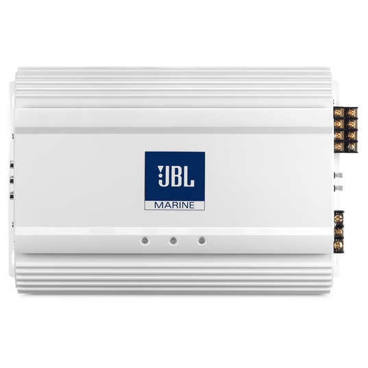 MA 6004 - White - 4-Channel Full-Range Marine Amplifier (60x4) - Hero