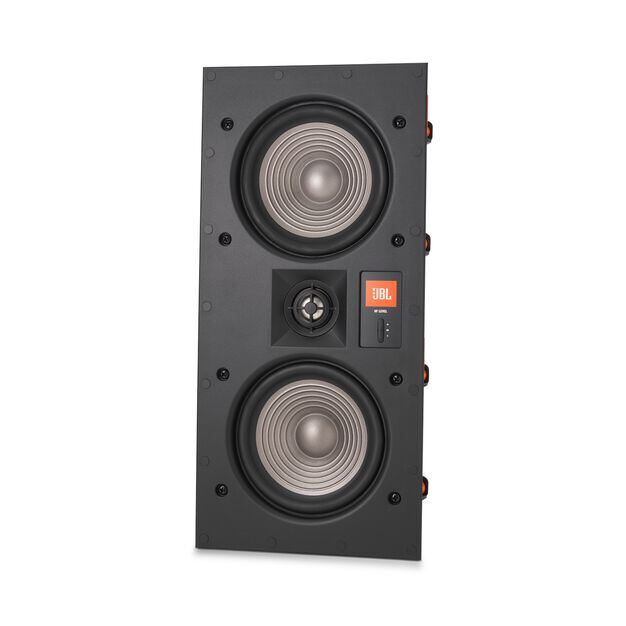 "Studio 2 55IW - Black - Premium In-Wall Loudspeaker with 2 x 5-1/4"" Woofers - Detailshot 3"